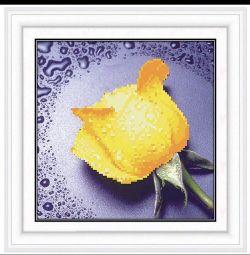 Diamond embroidery mosaic rose