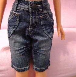 Denim shorts, 2-4 years