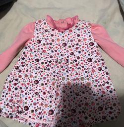 Плаття і кофточка на новонароджену дівчинку