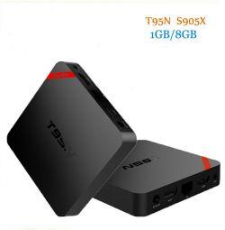 Set TV / TV inteligent T95N S905X 1 / 8GB
