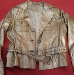 Deri Ceket (Altın)
