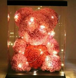 Αρκούδα τριαντάφυλλα μουσικά