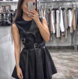 Кожаные платья ЭКО кожа