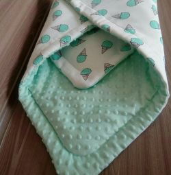 baby blanket envelope new