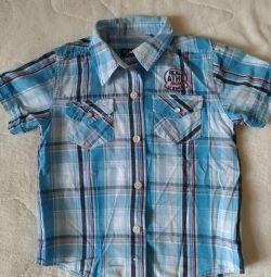 Shirt on a boy 110-116
