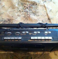 Магнітофон 2-х касетний