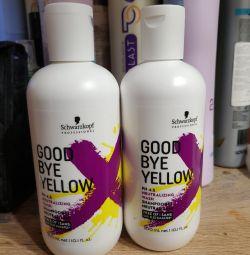 Șampon împotriva galbenului Schwarzkopf