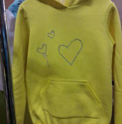 Νέο μπλούζα υποδημάτων φούτερ, κουκούλα