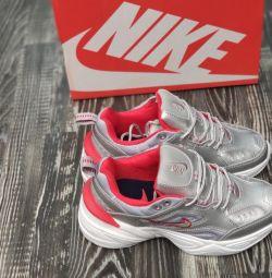 Nike M2K Tekno spor ayakkabı gri