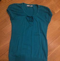 Bluză turcoaz