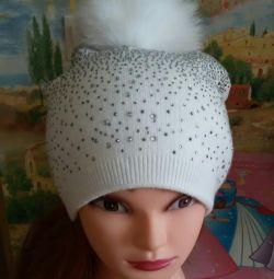 Новая шапочка.Смотрится супер.Качество отличное.