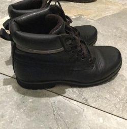 δερμάτινες μπότες CAT 37 r