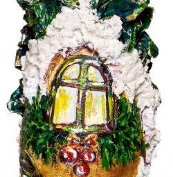 Τέχνη ζωγραφική του μπουκαλιού ως δώρο