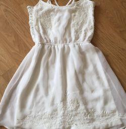 Λευκό φόρεμα 44ρ
