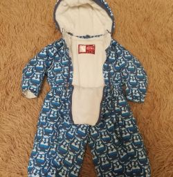 Winter jumpsuit for boys