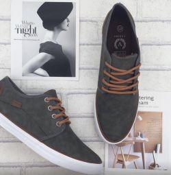 Ανδρικά πάνινα παπούτσια νέων ατόμων