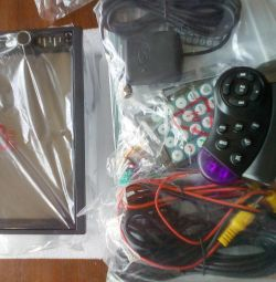Radio 7021G + camera + card + additional panel