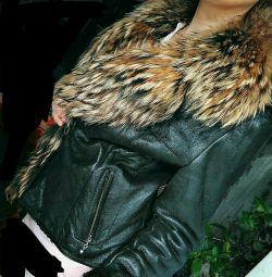 Natural sheepskin coat, 46-48-50
