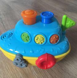 Музична іграшка для купання BabyGo