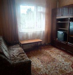 I rent a one-room apartment, block 8.