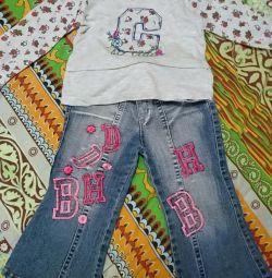 Комплект для девочки 2-3 года