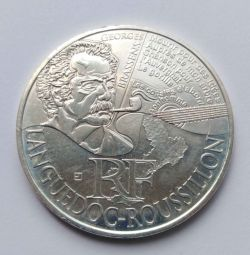 10 евро. Франция 2012 г. Серебро
