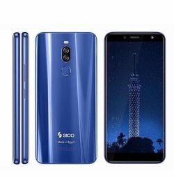 Sico Nile X Dual Sim - 64GB, 4GB RAM, 4G LTE, Blue