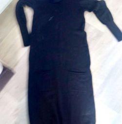 Платье шерсть Италия