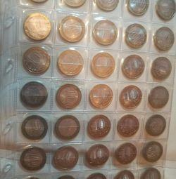 Coins of Russia Bimetal
