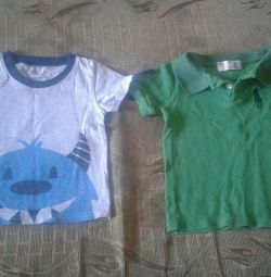 T-shirts for a boy 2-3 years old