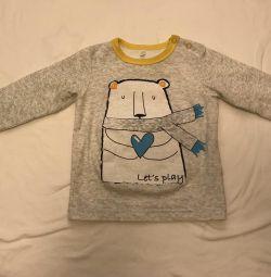 Örme sweatshirt