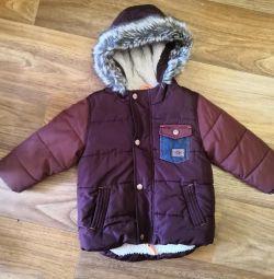 Утепленная курточка ф. Next, 12-18 мес.