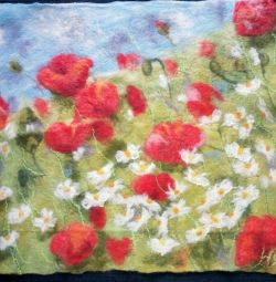 Wool Poppies