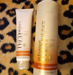Șampon și ser împotriva căderii părului
