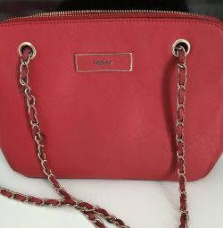 DKNY red original bag