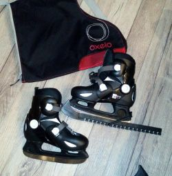Children's sliding hockey skates OXELO 30-32r