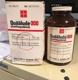 Barbiturates drugs( Quaalude, Seconal, Amytal, Rem