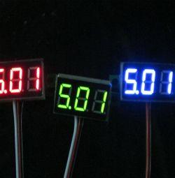 Otomatik Dijital Voltmetre 4v - 30v