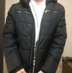 Jachetă în jos negru h & m