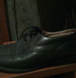Кожаные туфли юничел р.31
