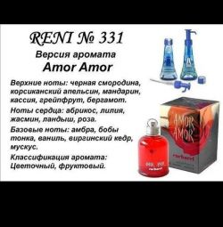 Kadın parfümü Amor Amor