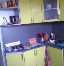 Kitchen set MDF lime metallic