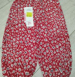 Pants for girls, 18-24 months