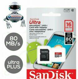 Κάρτα μνήμης Sandisk 16 Gb