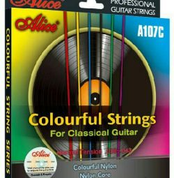 Colored strings for classical guitar Alice A107-C