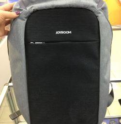 Backpack antivor Joyroom CY199 gray