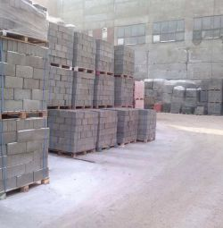 CONCRETE SEMI-BLOCKS, M-50 BLOCKS in stock