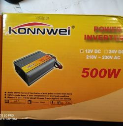 KonnWei 500W voltage converter from 12v to 2