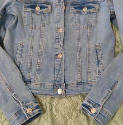 Jacheta din denim Mango