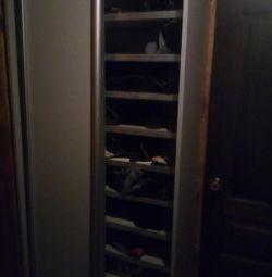 Шкаф купе для обуви